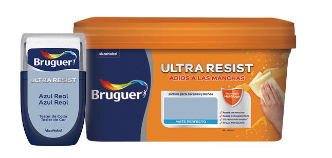 Foto Bodegón - Ultraresist - ¿Qué colecciones de color están disponibles en los testers de color? - Tester Bruguer
