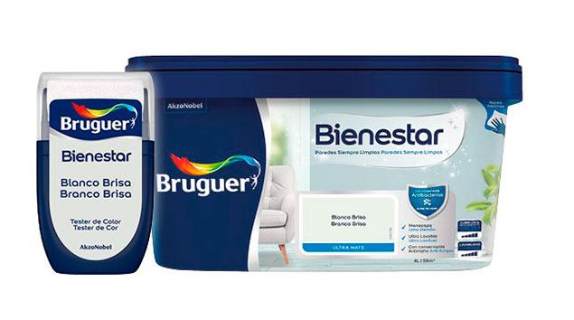 Bodegón - bote - pintura - blanco-brisa-bienestar-Bruguer-Leroy-Merlin