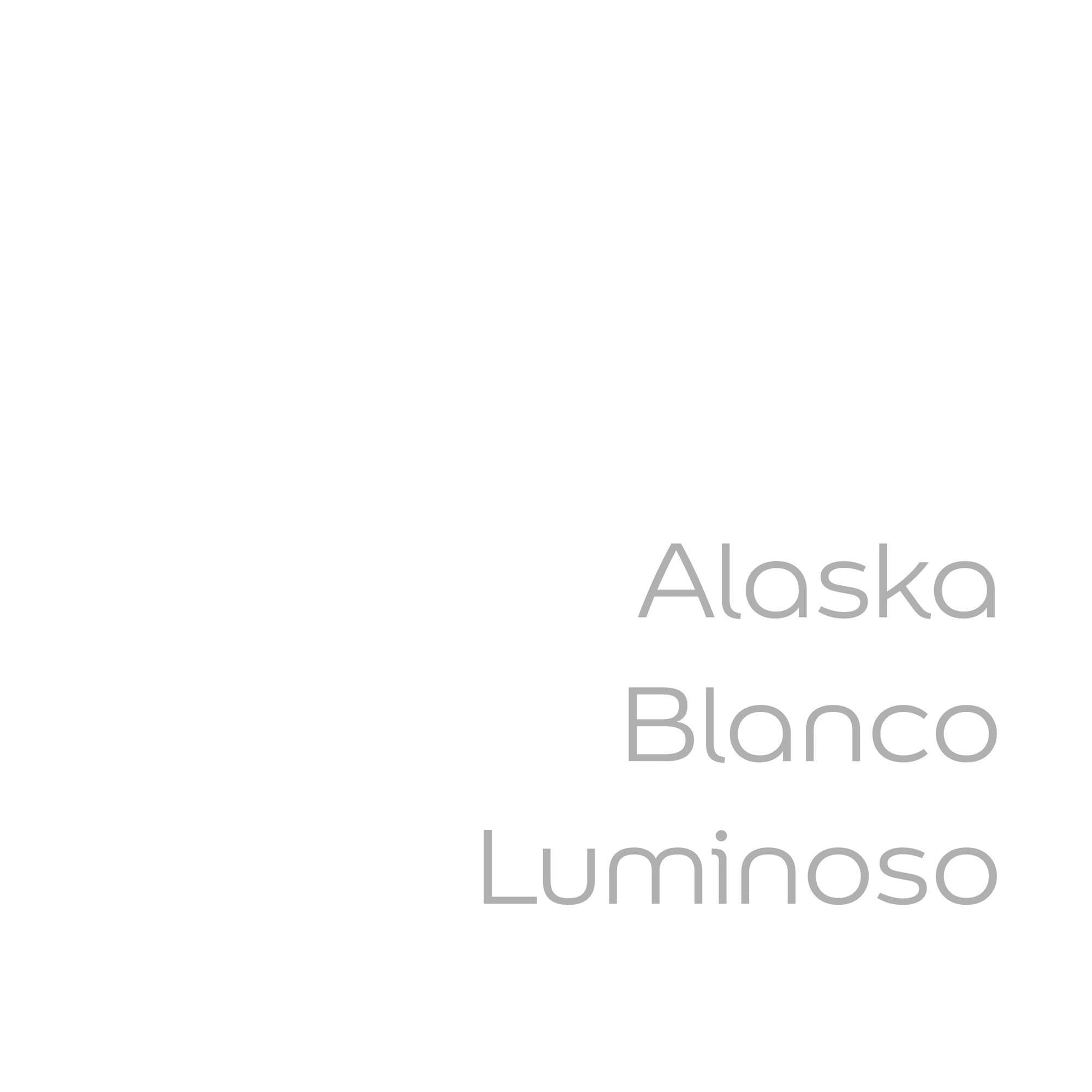 tester de color de pintura bruguer alaska blanco luminoso color