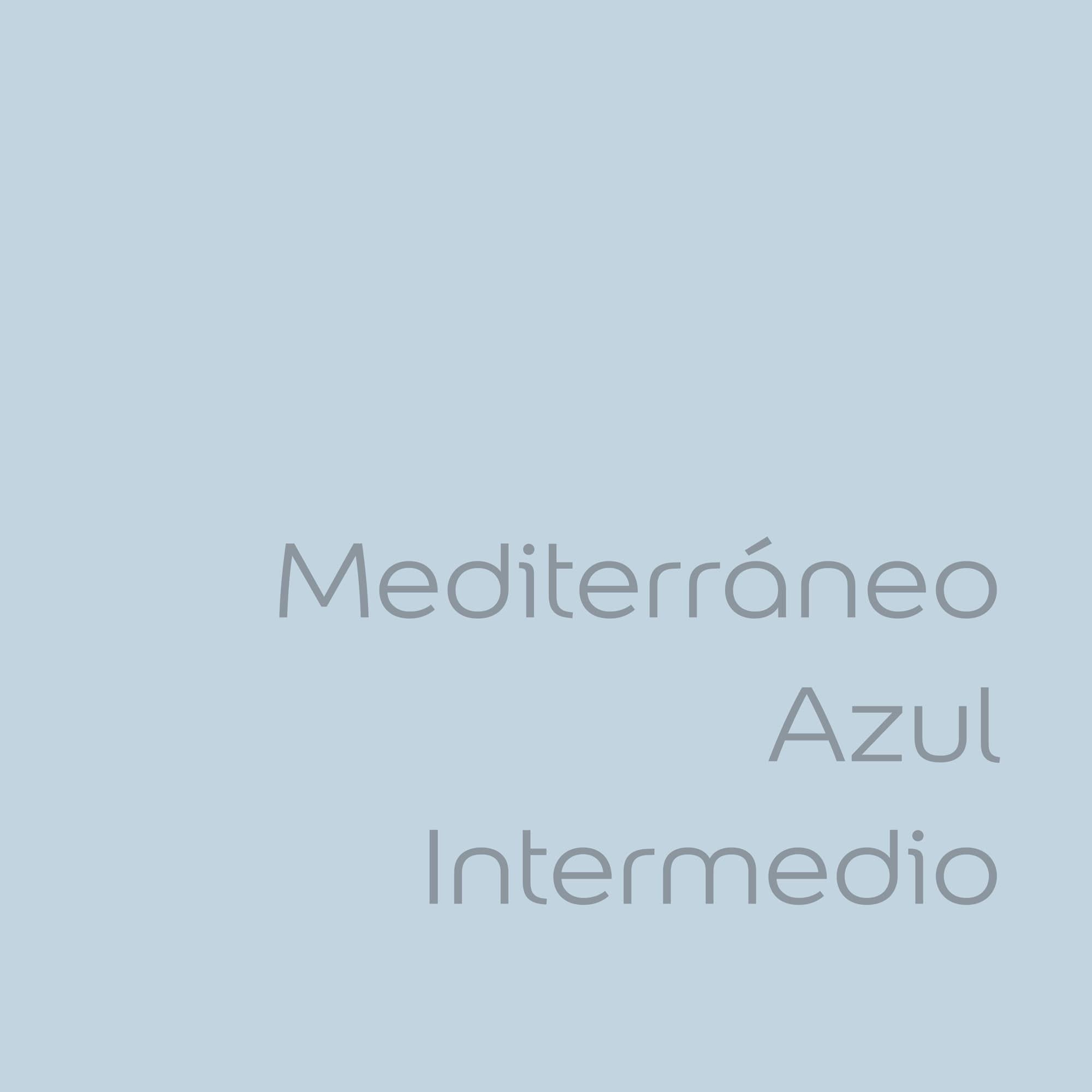 tester de color de pintura bruguer cdm mediterraneo azul intermedio color