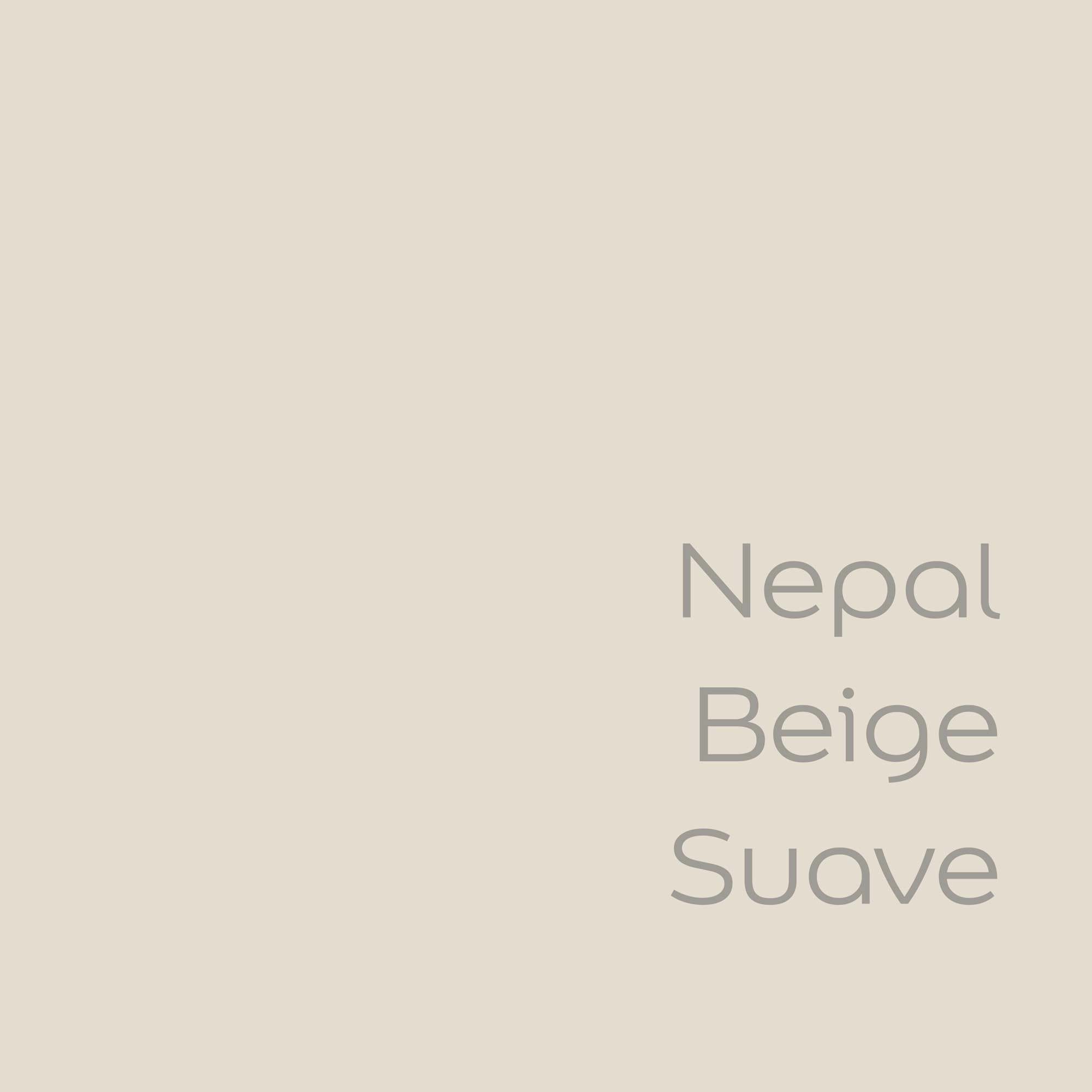 tester de color de pintura bruguer nepal beige suave color