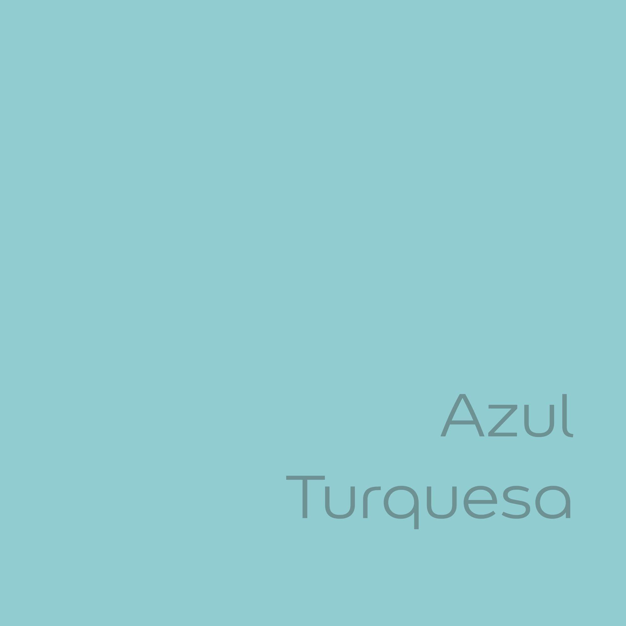 tester de color de pintura bruguer ultraresist azul turquesa color